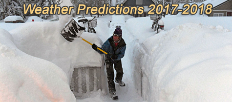 Weather Predictions 2017-2018